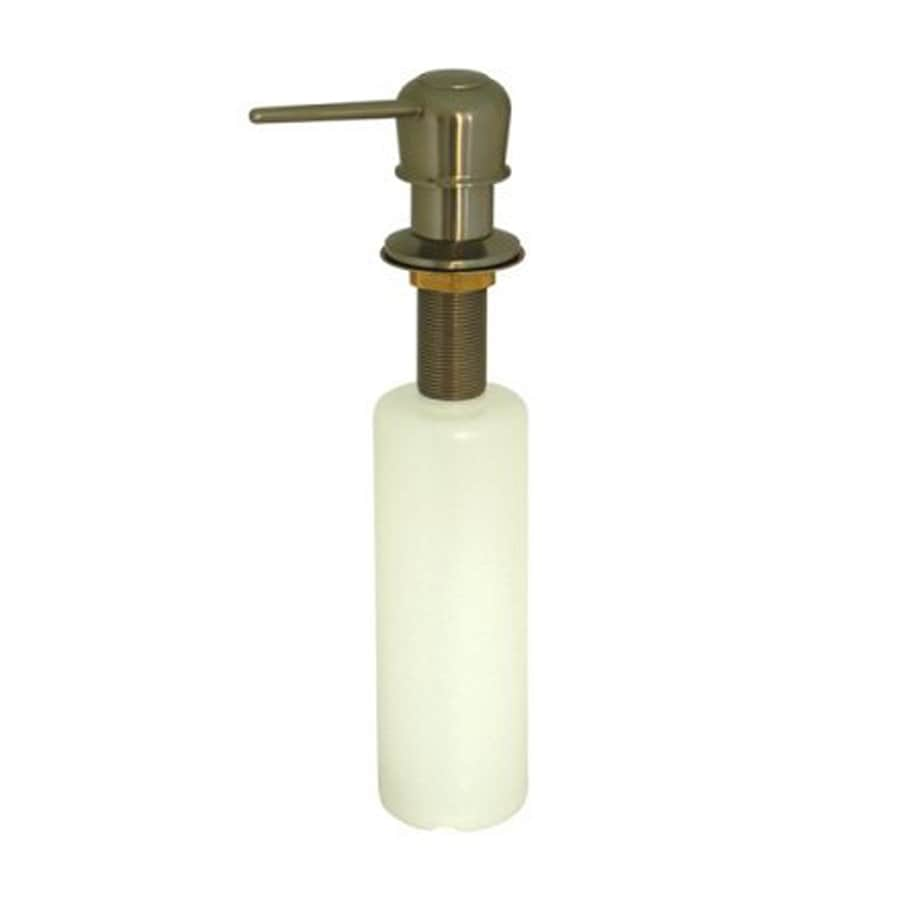 Elements of Design Heritage Satin Nickel Soap and Lotion Dispenser