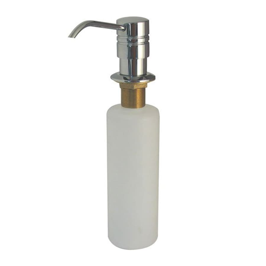 Elements of Design Milano Chrome Soap and Lotion Dispenser