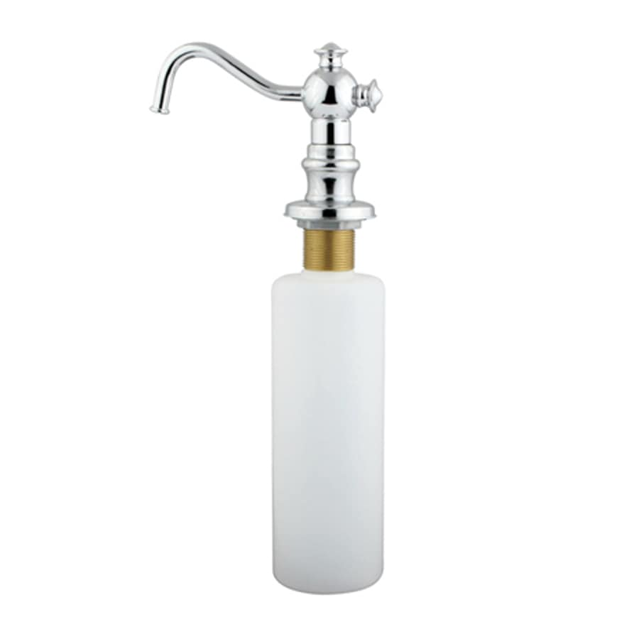 Elements of Design Vintage Chrome Soap and Lotion Dispenser