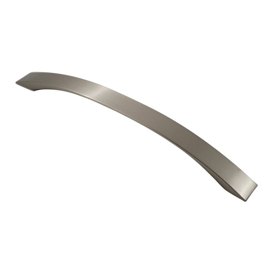 Residential Essentials 7-1/2-in Center-To-Center Satin Nickel Arched Cabinet Pull