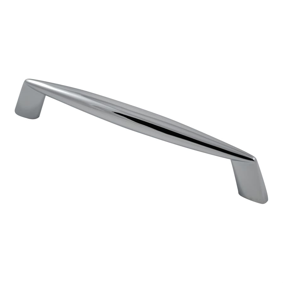 Residential Essentials 5-in Center-To-Center Polished Chrome Rectangular Cabinet Pull