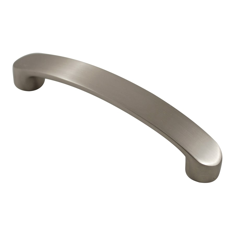 Residential Essentials 3-3/4-in Center-To-Center Satin Nickel Arched Cabinet Pull