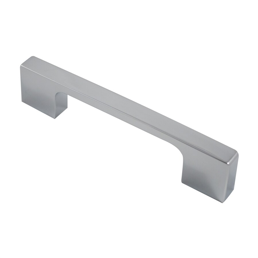 Residential Essentials 3-3/4-in Center-To-Center Polished Chrome Rectangular Cabinet Pull