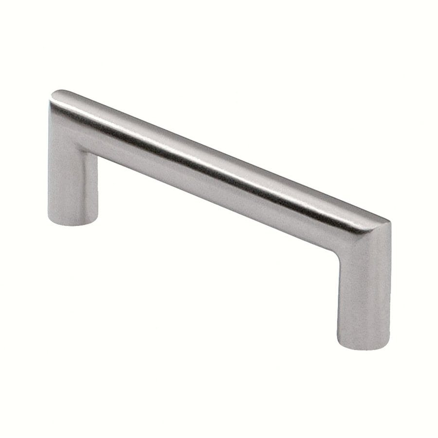 Siro Designs 3-3/4-in Center-To-Center Fine-Brushed Stainless-Steel Rectangular Cabinet Pull