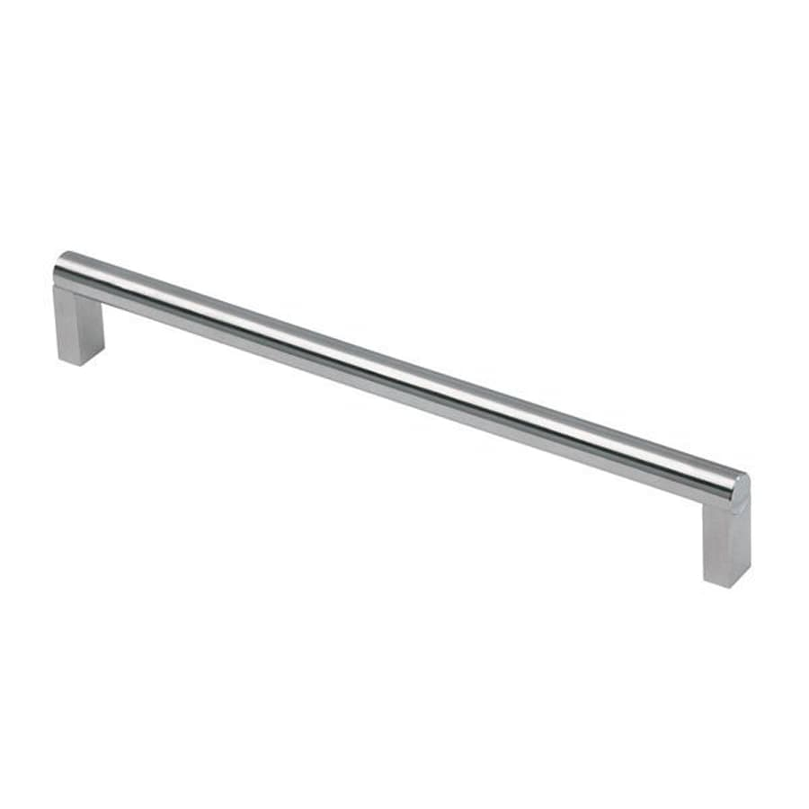 Siro Designs 480Mm Center-To-Center Fine-Brushed Stainless-Steel Bar Cabinet Pull