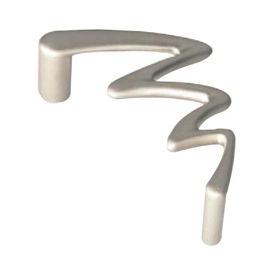 Siro Designs 3-3/4-in Center-To-Center Matte Nickel Jazz Novelty Cabinet Pull