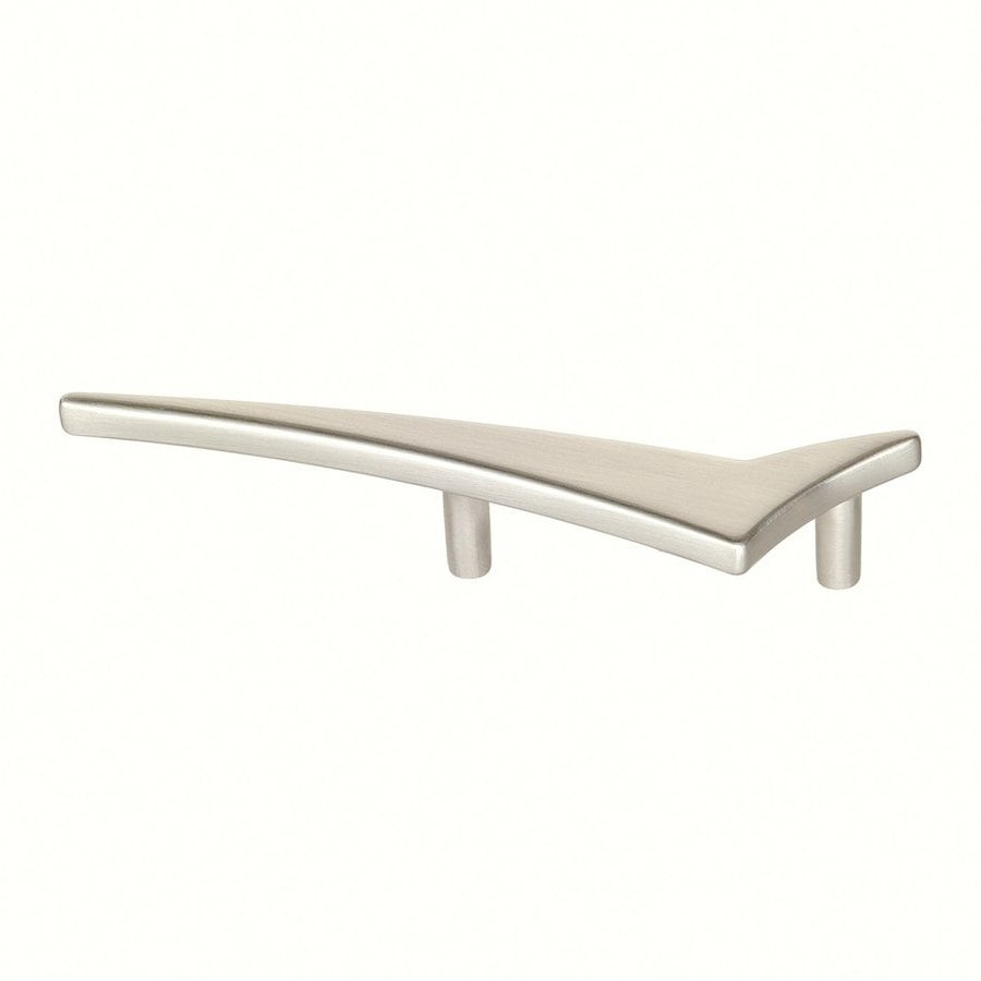 Siro Designs 2-1/2-in Center-To-Center Fine-Brushed Nickel Starline Novelty Cabinet Pull
