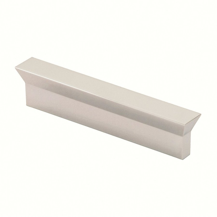 Siro Designs 3-3/4-in Center-To-Center Fine-Brushed Nickel Eos Rectangular Cabinet Pull