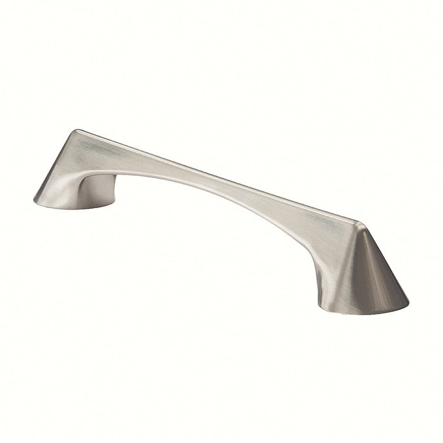 Siro Designs 160Mm Center-To-Center Fine-Brushed Nickel Italian Line Bar Cabinet Pull