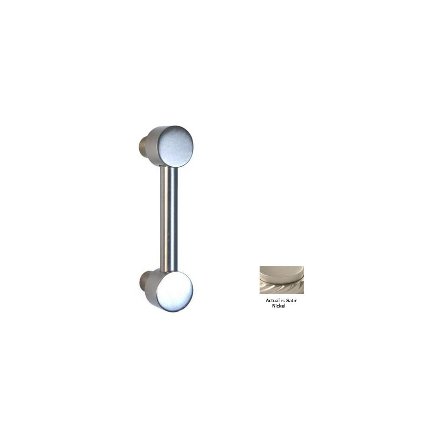 Allied Brass 3-in Center-To-Center Satin Nickel Bar Cabinet Pull
