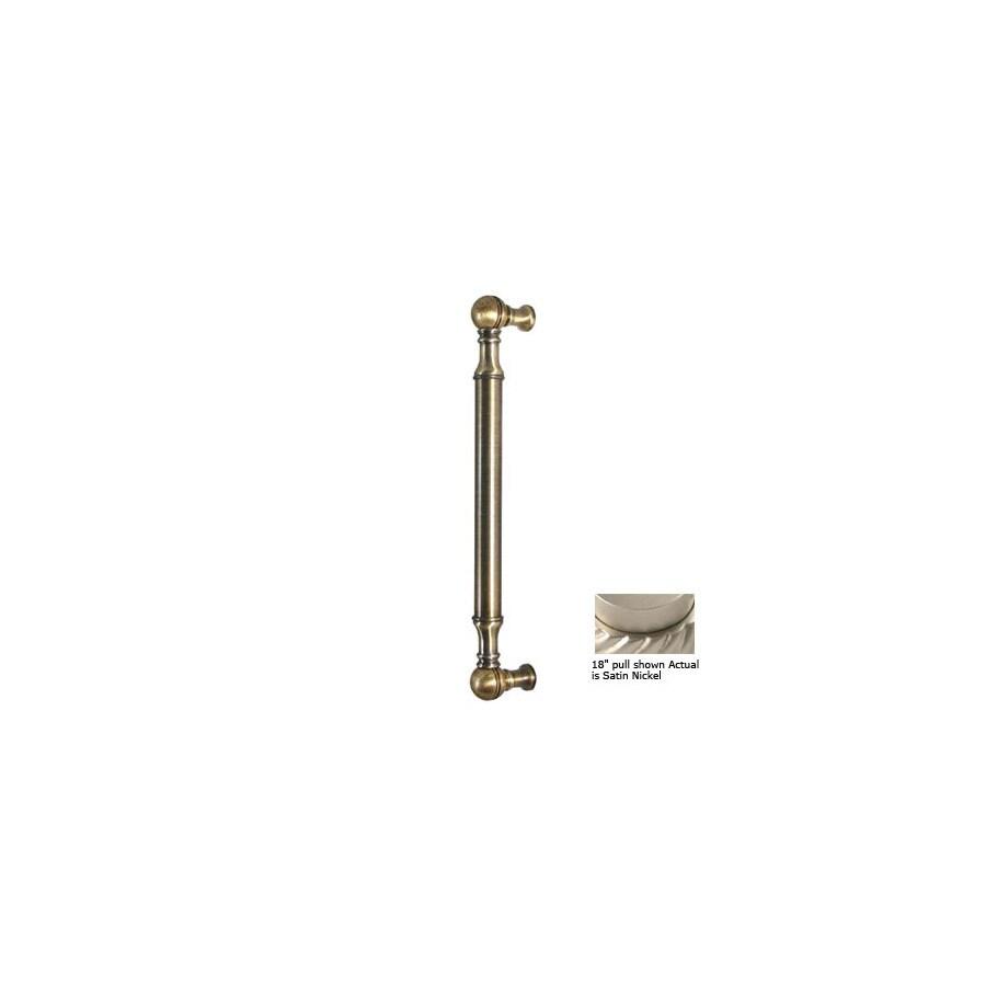 Allied Brass 8-in Center-To-Center Satin Nickel Bar Cabinet Pull