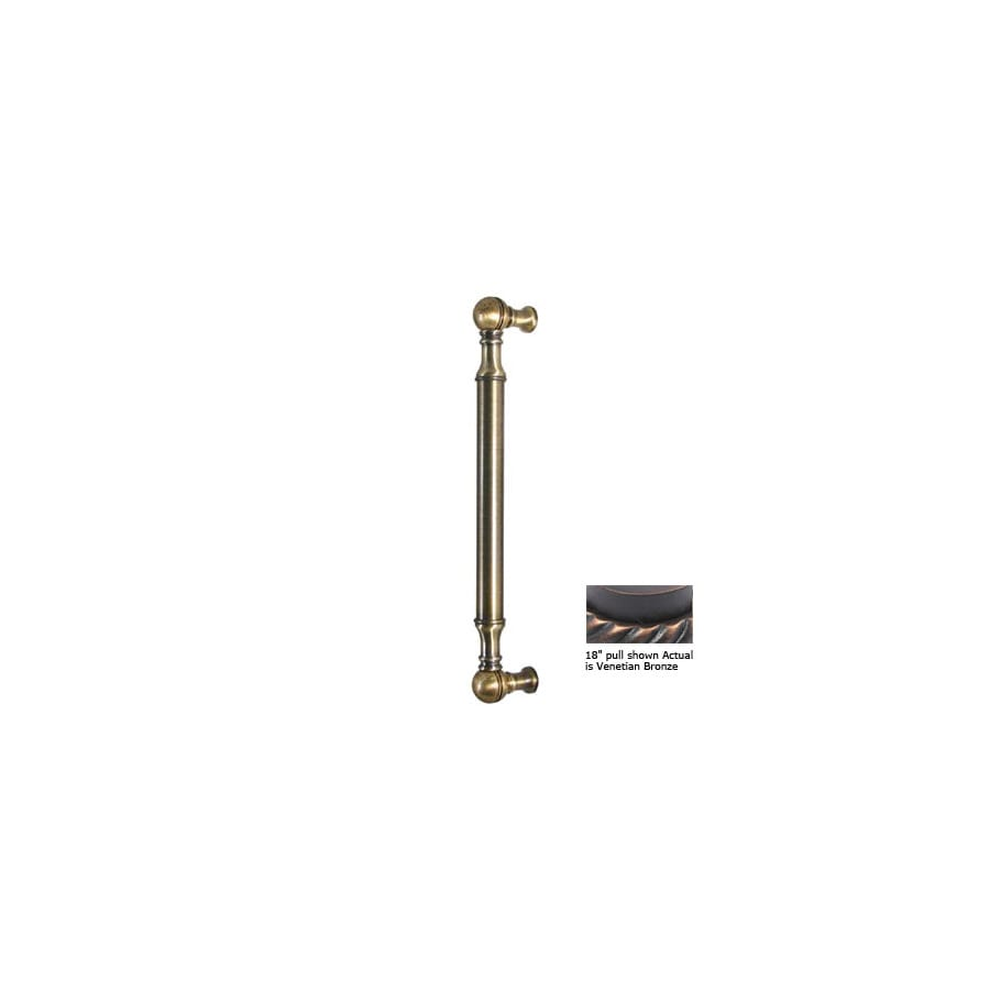 Allied Brass 8-in Center-To-Center Venetian Bronze Bar Cabinet Pull