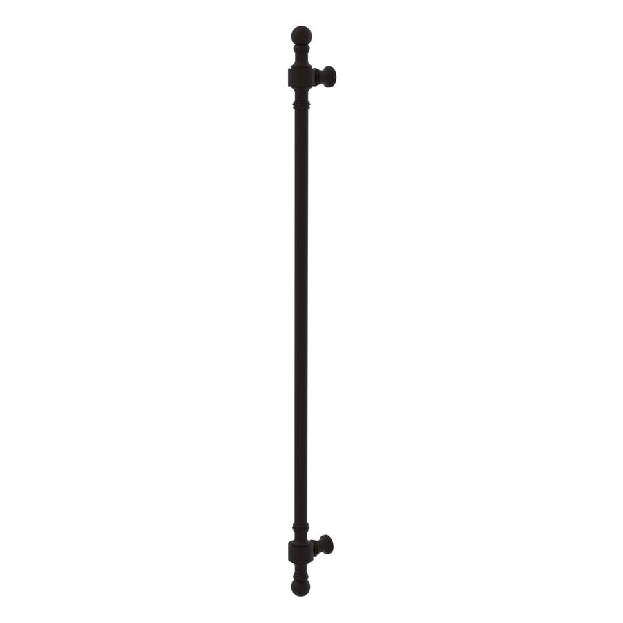 Allied Brass 18-in Center-to-Center Oil-Rubbed Bronze Retro Wave Bar Cabinet Pull For Appliances