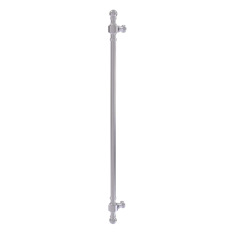 Allied Brass 18-in Center-To-Center Polished Chrome Retro-Wave Bar Cabinet Pull for Appliances