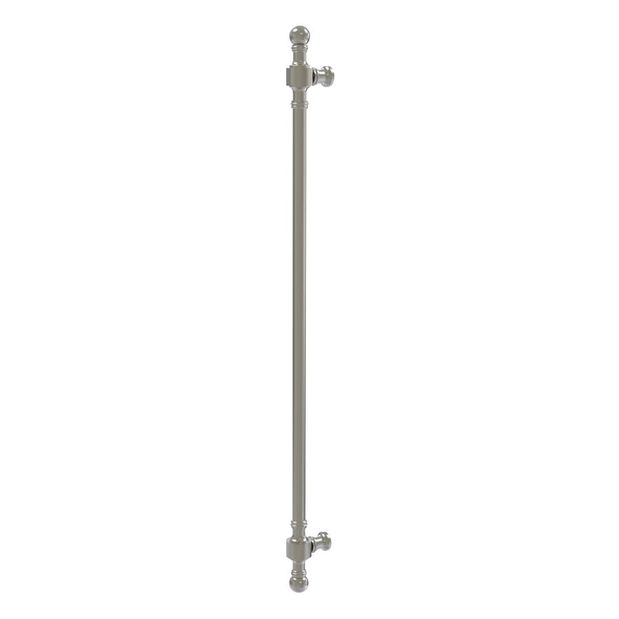 Allied Brass 18-in Center-to-Center Satin Nickel Retro Wave Bar Cabinet Pull For Appliances