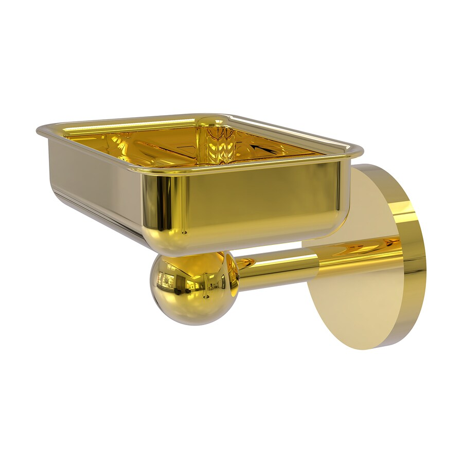 Allied Brass Skyline Polished Brass Brass Soap Dish