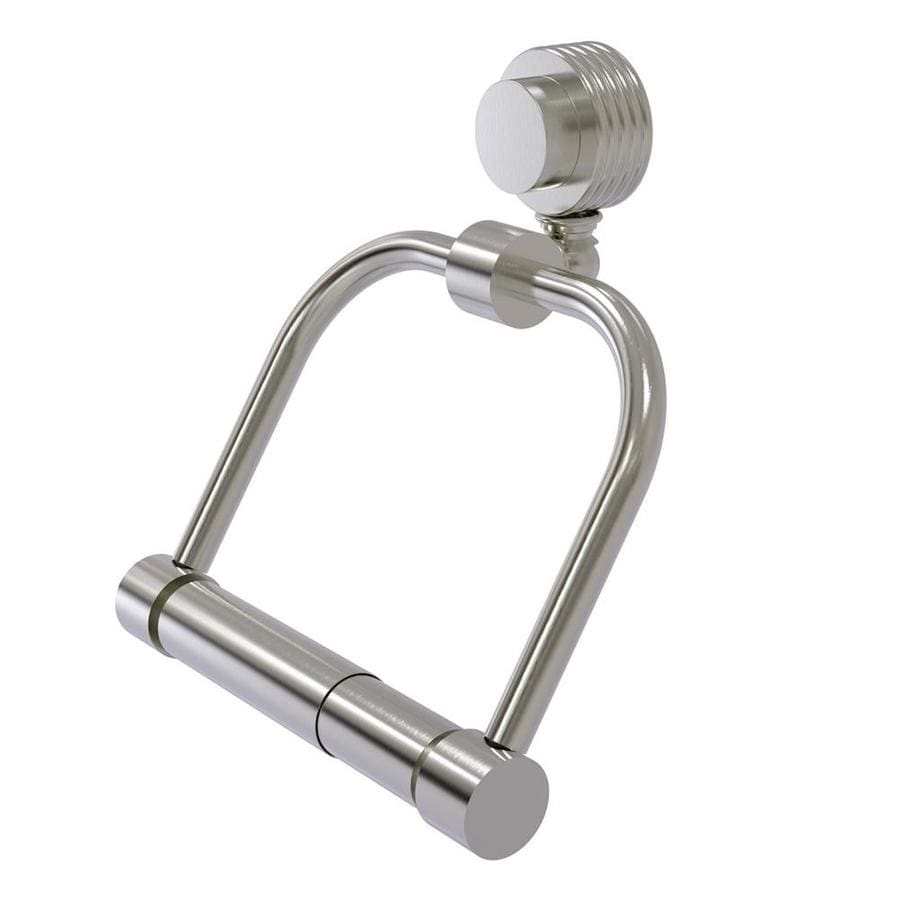 Allied Brass Venus Satin Nickel Surface Mount Toilet Paper Holder