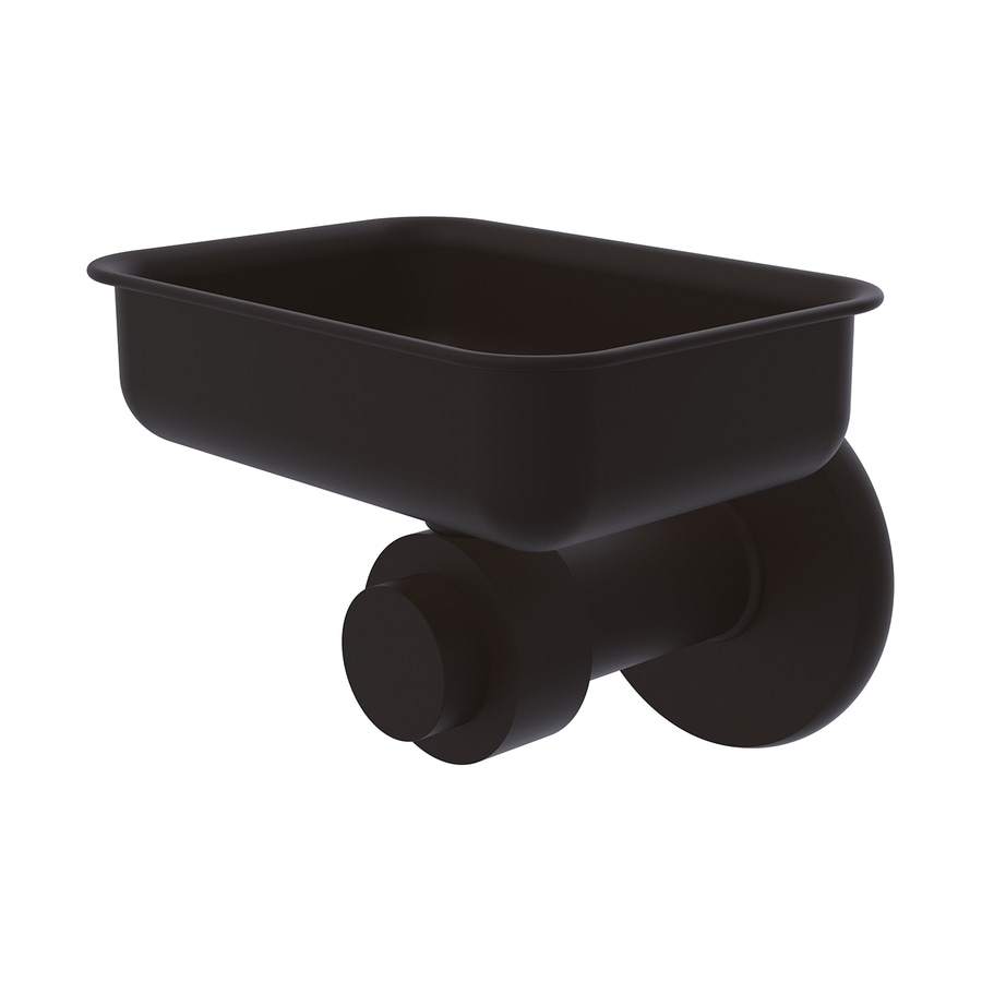 Allied Brass Mercury Oil-Rubbed Bronze Brass Soap Dish