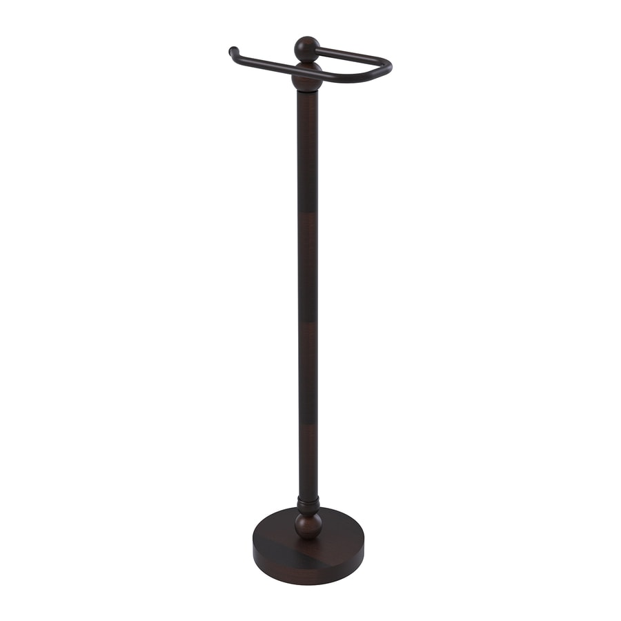 Allied Brass Bolero Venetian Bronze Freestanding Floor Toilet Paper Holder
