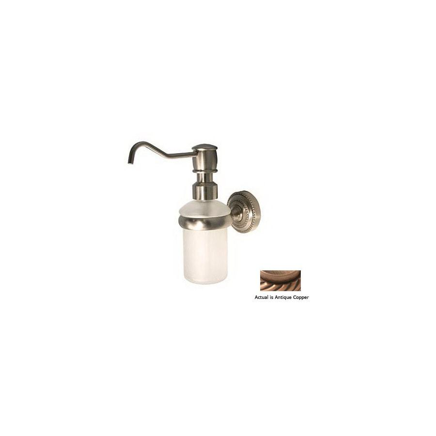 Allied Brass Copper Soap Dispenser