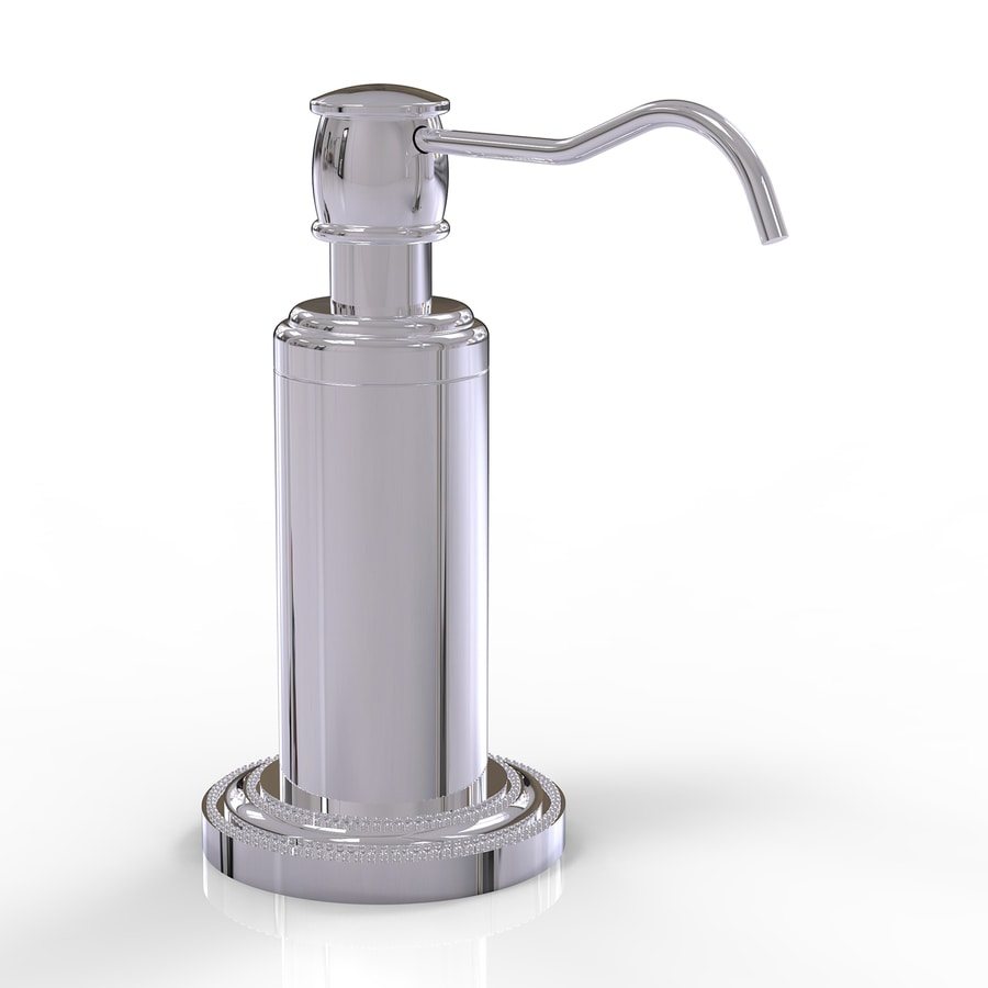 Allied Brass Dottingham Polished Chrome Soap and Lotion Dispenser