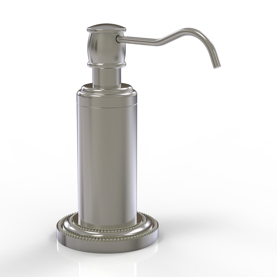 Allied Brass Dottingham Satin Nickel Soap and Lotion Dispenser