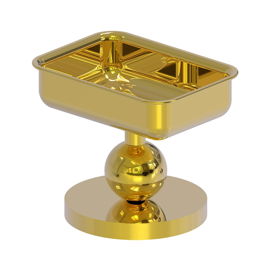 Allied Brass Polished Brass Brass Soap Dish