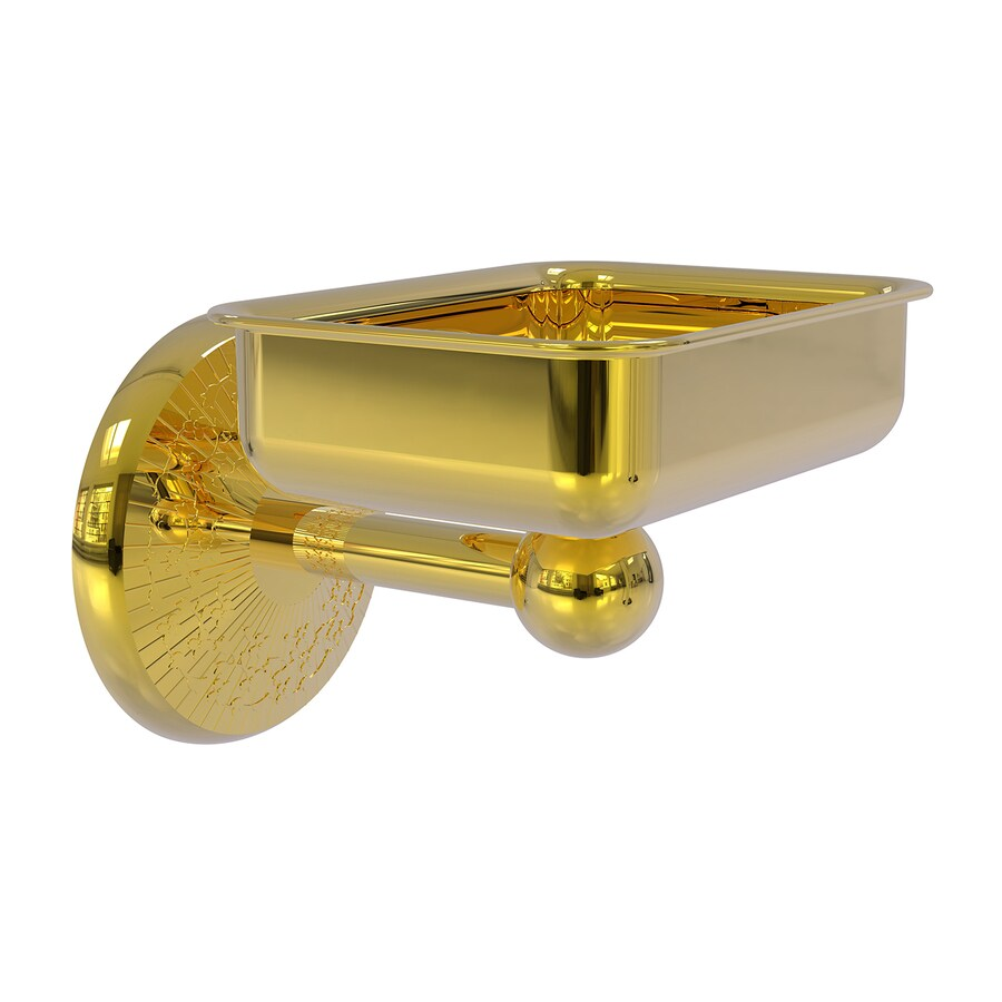 Allied Brass Monte Carlo Polished Brass Soap Dish