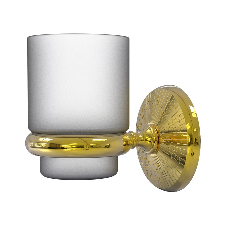 Allied Brass Monte Carlo Polished Brass Tumbler