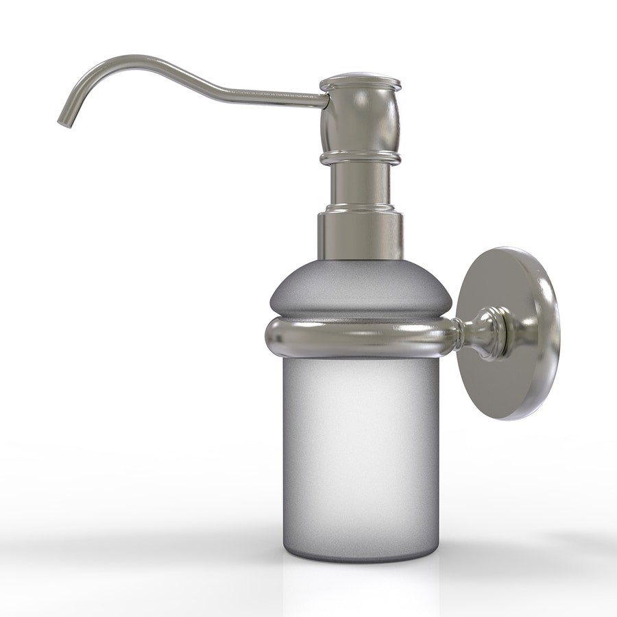 Allied Brass Satin Nickel Soap and Lotion Dispenser