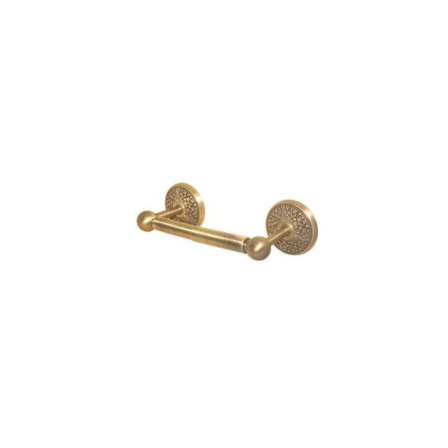 Allied Brass Prestige Monte Carlo Antique Brass Surface Mount Toilet Paper Holder