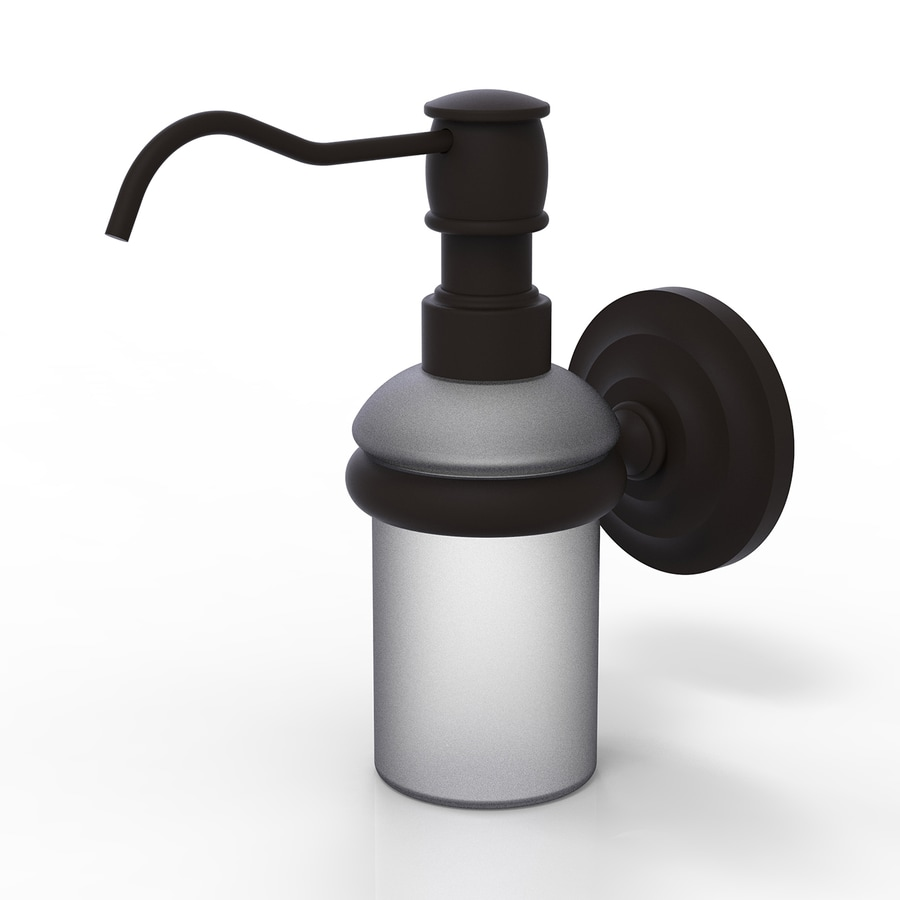 Allied Brass Prestige Que New Oil-Rubbed Bronze Soap and Lotion Dispenser