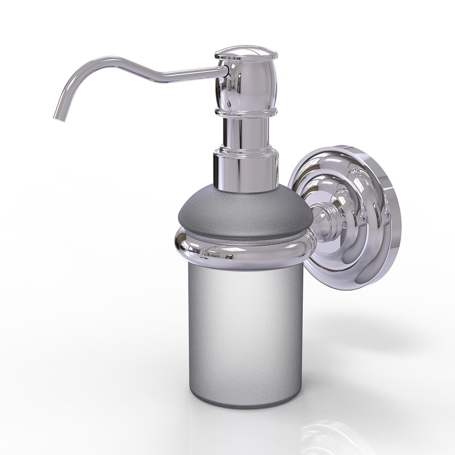 Allied Brass Polished Chrome Soap and Lotion Dispenser