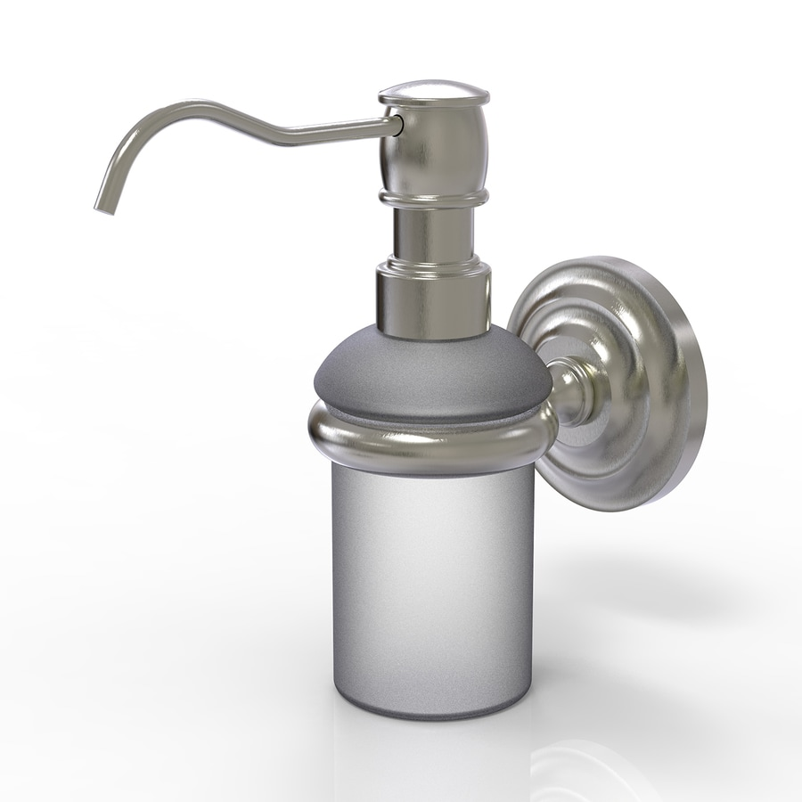 Allied Brass Prestige Que New Satin Nickel Soap and Lotion Dispenser