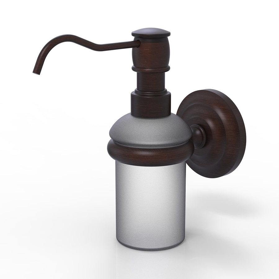Allied Brass Prestige Que New Venetian Bronze Soap and Lotion Dispenser