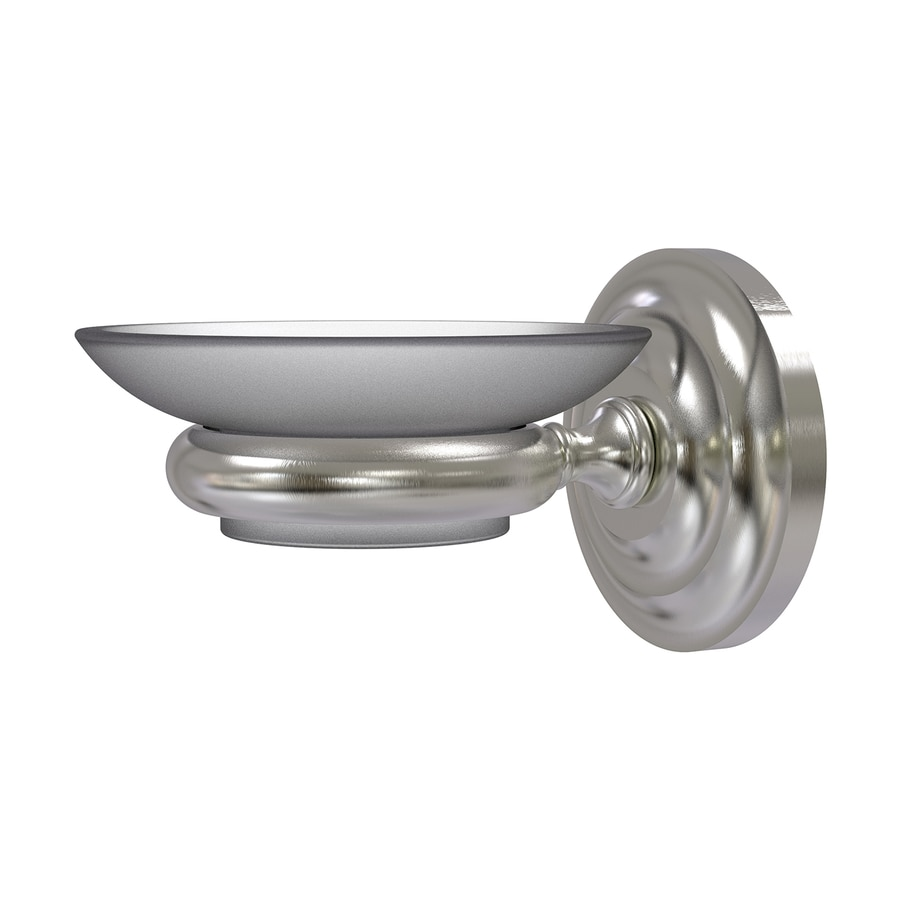 Allied Brass Prestige Que-New Satin Nickel Brass Soap Dish