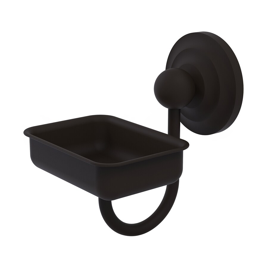 Allied Brass Prestige Que-New Oil-Rubbed Bronze Brass Soap Dish