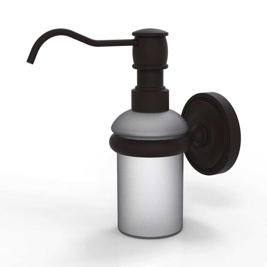 Allied Brass Oil-Rubbed Bronze Soap and Lotion Dispenser
