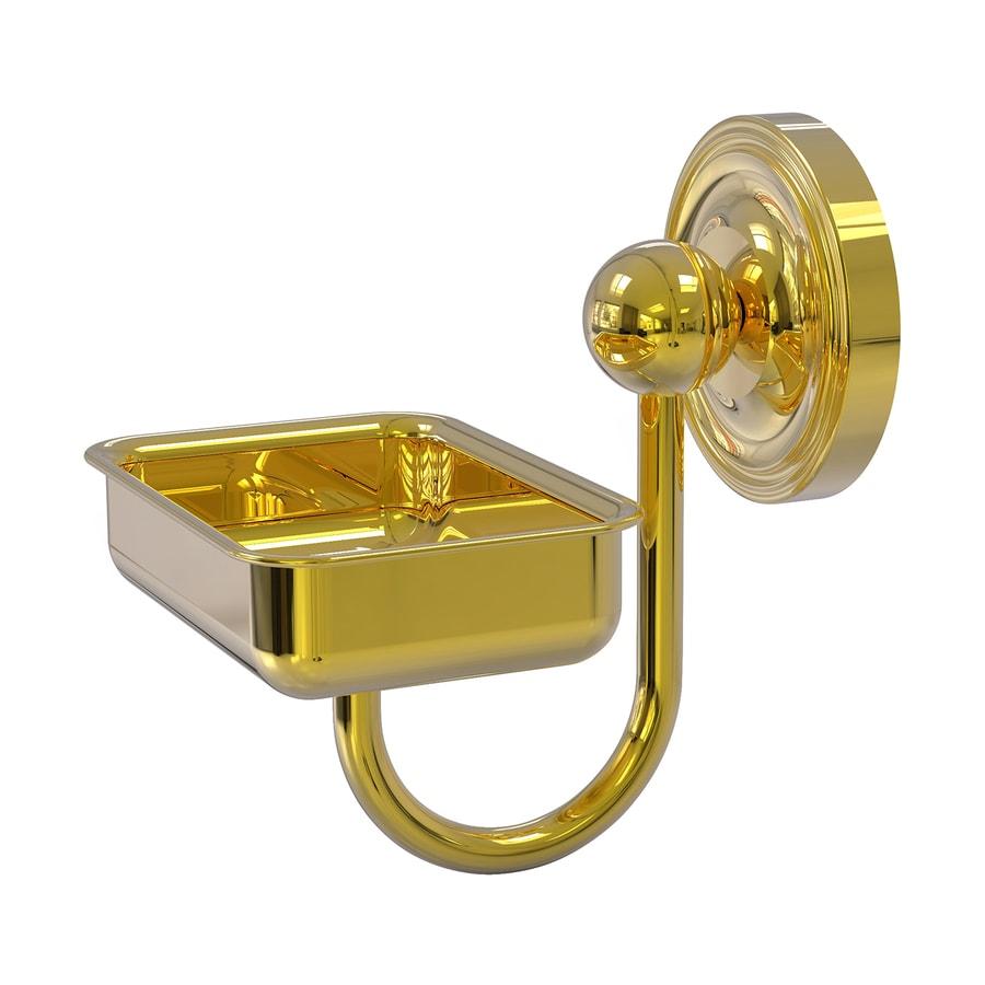 Allied Brass Prestige Regal Polished Brass Soap Dish