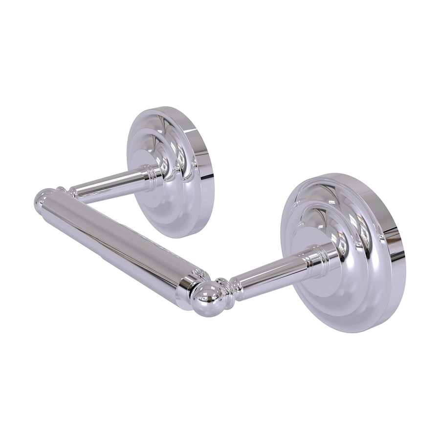 Allied Brass Que-New Polished Chrome Surface Mount Toilet Paper Holder