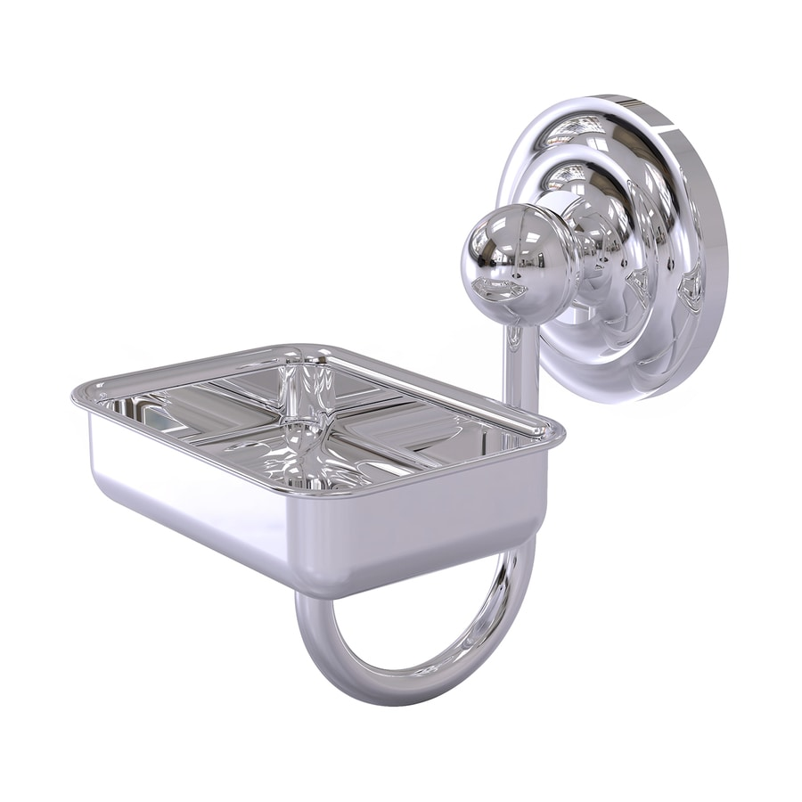 Allied Brass Que New Polished Chrome Brass Soap Dish