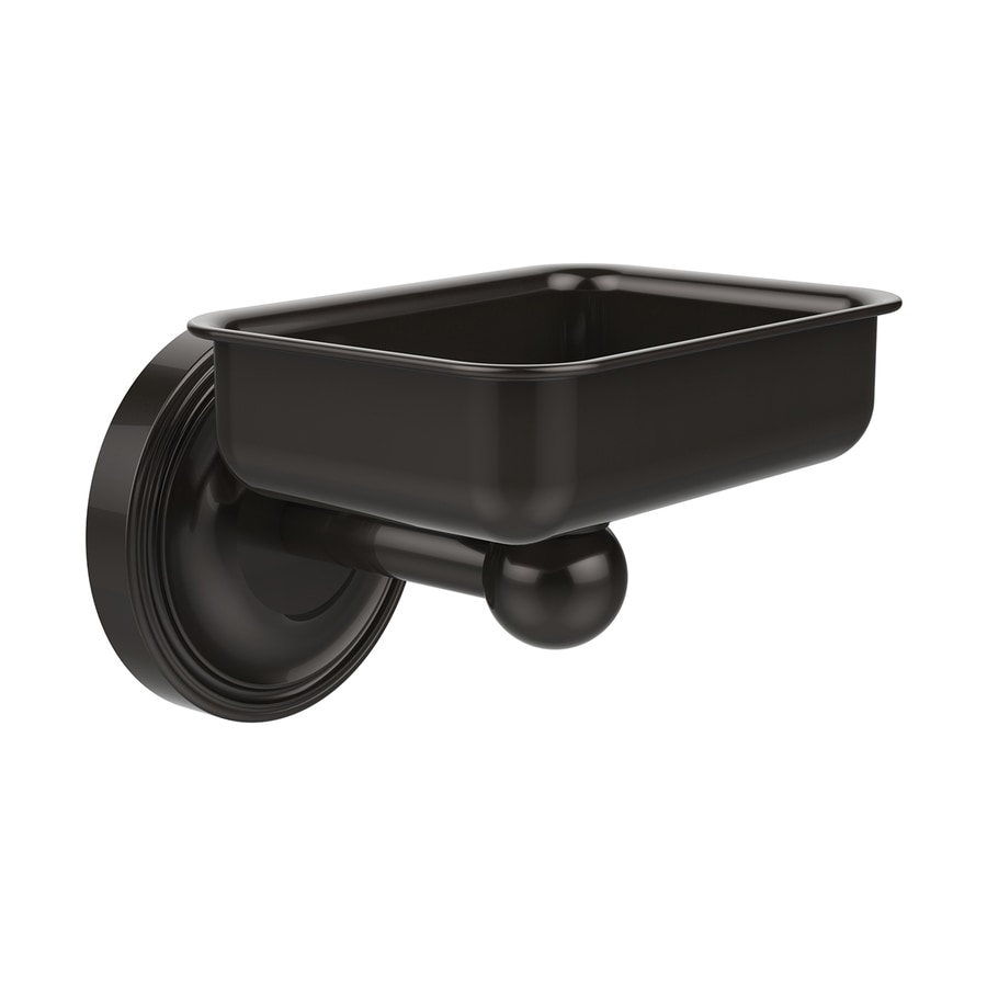 Allied Brass Regal Oil-Rubbed Bronze Brass Soap Dish