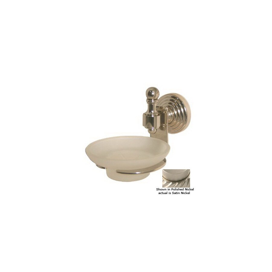 Allied Brass Retro-Wave Satin Nickel Brass Soap Dish