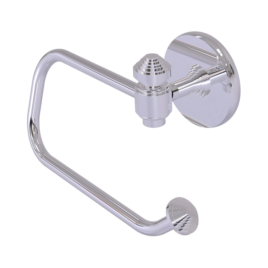 Allied Brass Southbeach Polished Chrome Surface Mount Single Post Toilet Paper Holder