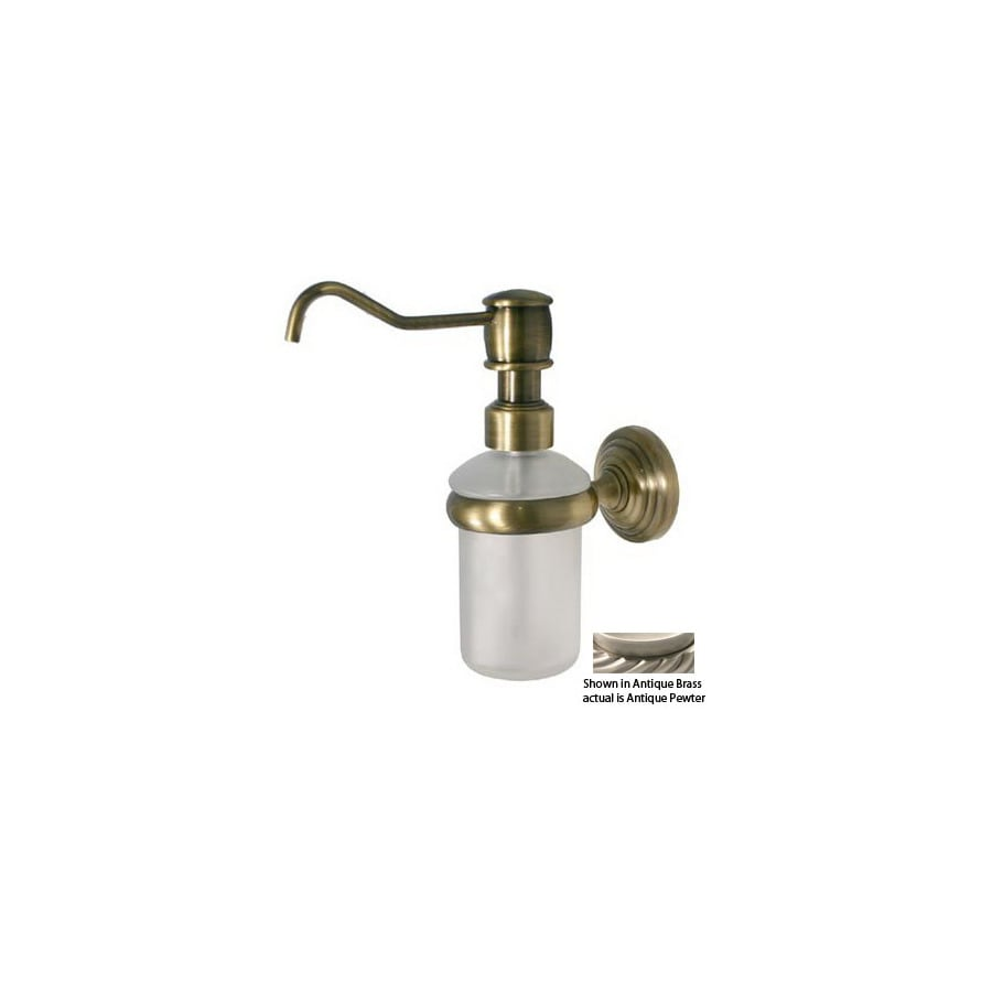 Allied Brass Pewter Soap Dispenser