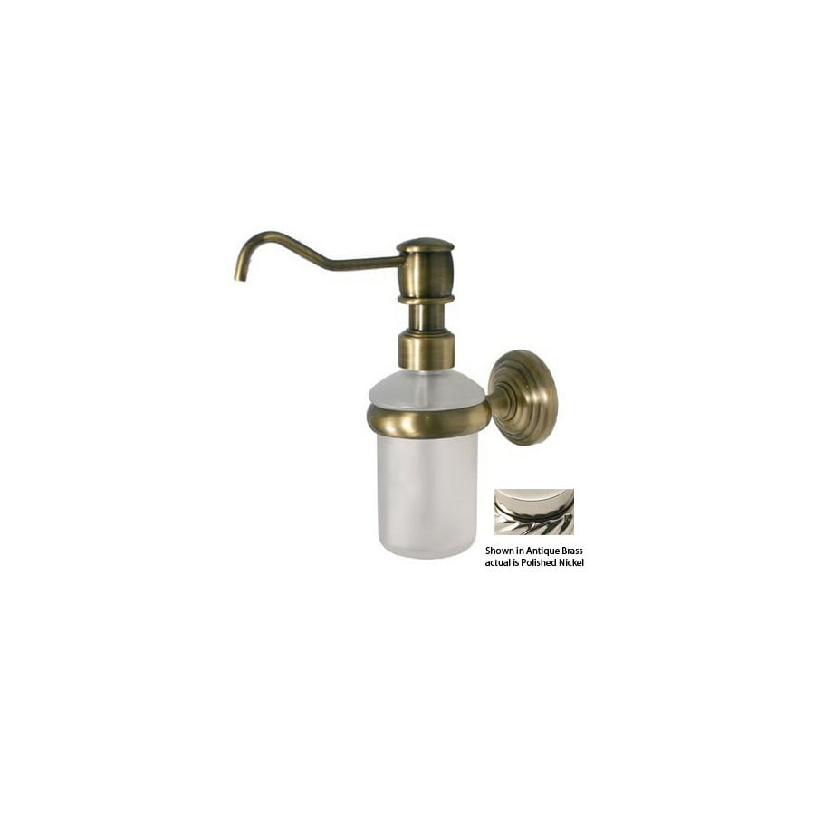 Allied Brass Nickel Soap Dispenser