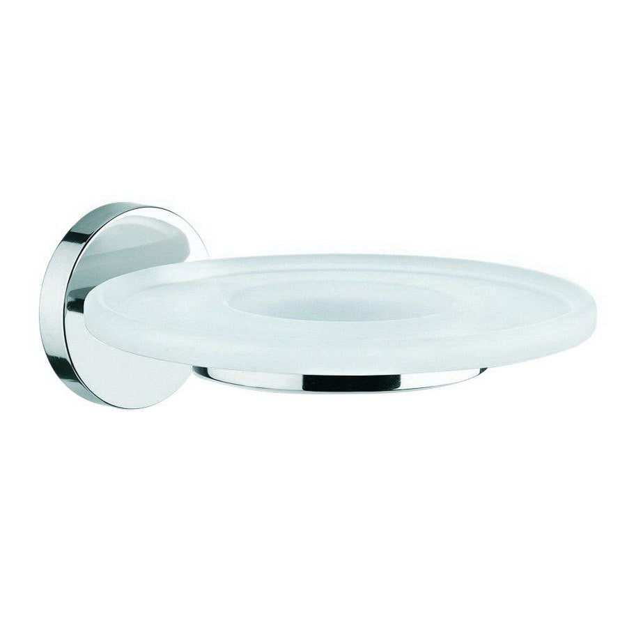 WS Bath Collections Duemila Polished Chrome Brass Soap Dish