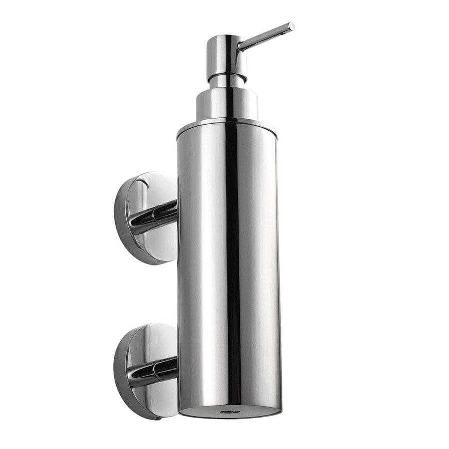 WS Bath Collections Polished Chrome Soap and Lotion Dispenser