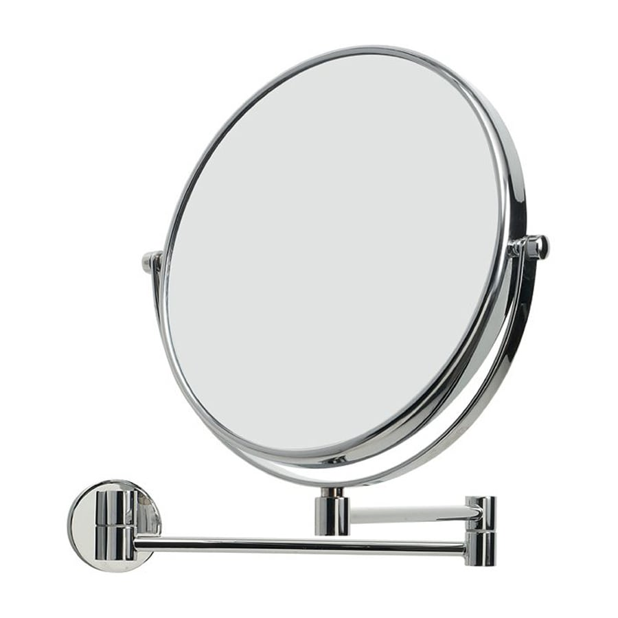 Shop WS Bath Collections Mirror Pure Chrome Magnifying