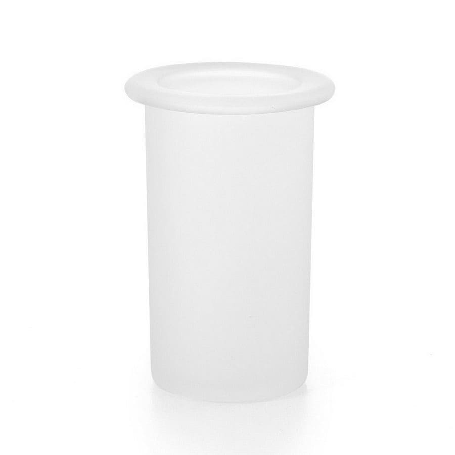 WS Bath Collections Complements Frosted Glass Tumbler